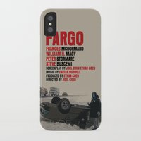 fargo iPhone & iPod Cases featuring Fargo Movie Poster  by FunnyFaceArt
