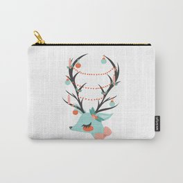 Retro Reindeer Carry-All Pouch