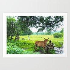 India [3] Art Print