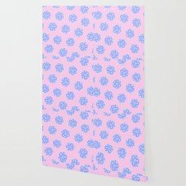 Twenty Sided Dice Pattern Wallpaper
