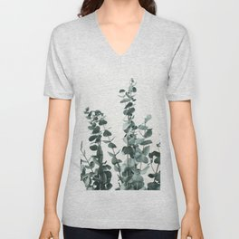 Eucalyptus Leaves Unisex V-Neck