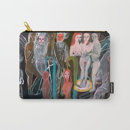 Swimming in the Spirit World Carry-All Pouch