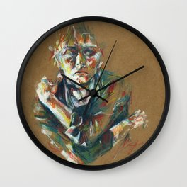 Portrait study I Wall Clock