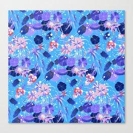 In Bloom Flower Print Canvas Print