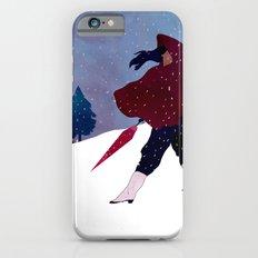 walking on snow iPhone 6s Slim Case