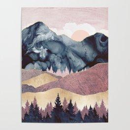 Mauve Vista Poster