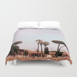 Across the Red Desert Duvet Cover
