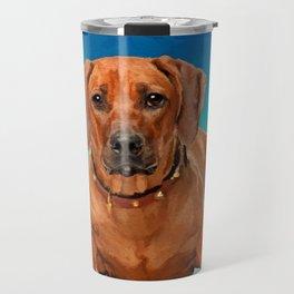Rhodesian Ridgeback  Puppy Travel Mug