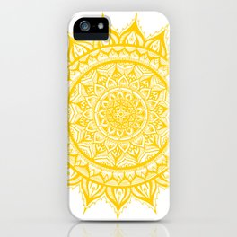 Sunflower-Yellow iPhone Case