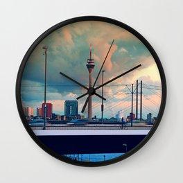 Düsseldorf Panorama Wall Clock