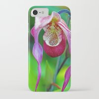 orchid iPhone & iPod Cases featuring Orchid by Trevor Jolley