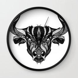 Signs of the Zodiac - Taurus Wall Clock
