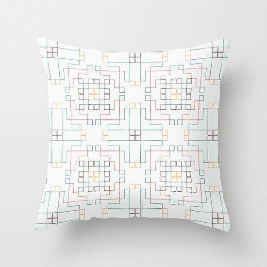 ufolk6 Throw Pillow