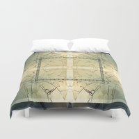 carnival Duvet Covers featuring Carnival by Lily Mandaliou
