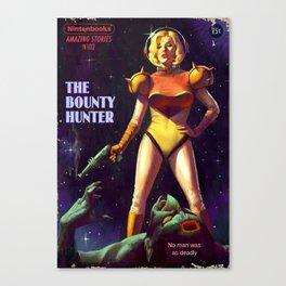 The Bounty Hunter Canvas Print