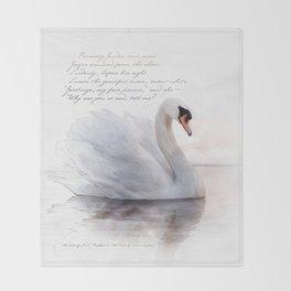 The Swan Princess Throw Blanket