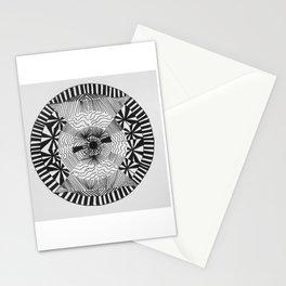 Optical fantasy Stationery Cards