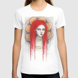 """Kaos"" Mixed Media Portrait painting T-shirt"