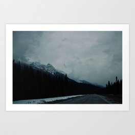 Canadian Rockies (2) Art Print