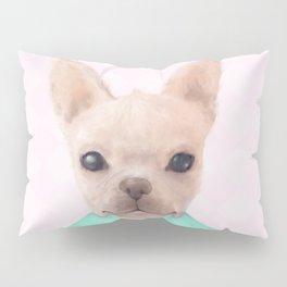Portrait Of French Bull Dog Pillow Sham