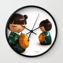 Kokeshi 01 Wall Clock