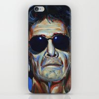 lou reed iPhone & iPod Skins featuring Lou Reed by Buffalo Bonker