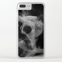 Plastic Dynamism 2 Clear iPhone Case
