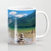 watchmen Mugs featuring Watchmen of the Lake by Doug Burke
