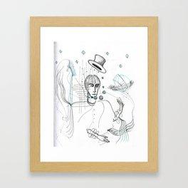 Measurer of Time Framed Art Print