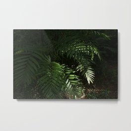 Heavy Leaves Metal Print