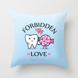 Forbidden Love Throw Pillow