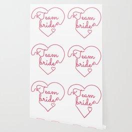 Team Bride - Bachelorette Hen Bridal Party Alcohol Wallpaper