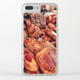 Delicious Choices Clear iPhone Case