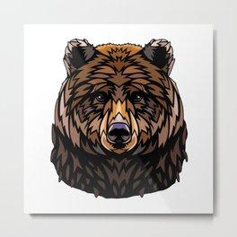 Animal Spirit Totem (The Bear) Metal Print