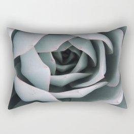 Serene Succulent Rectangular Pillow