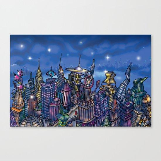 C2 & Posse (New-New York City) Canvas Print
