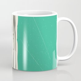 Moss Zebra Stripes Coffee Mug