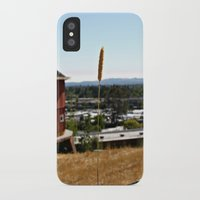 country iPhone & iPod Cases featuring Country by Dee Reimer