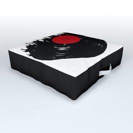 Vinyl record party Outdoor Floor Cushion
