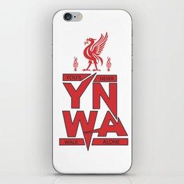 You'll Never Walk Alone Liverpool iPhone Skin