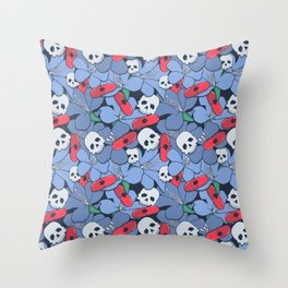 Death Rising from the Ground Throw Pillow