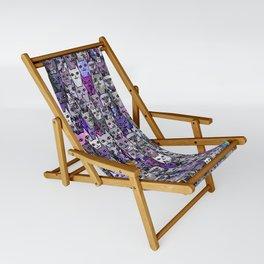 Ultraviolet Gemstone Cats Sling Chair