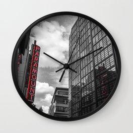 Downtown Crossing Boston, MA Wall Clock