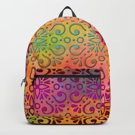 DP050-5 Colorful Moroccan pattern Backpack