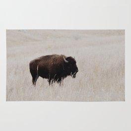 Oklahoma bison Rug