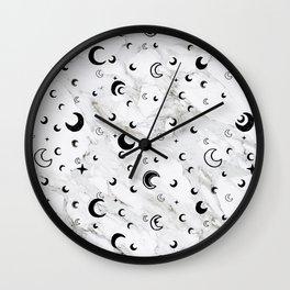 Dreams in Marble Wall Clock