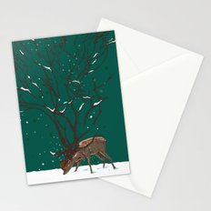 Winter Is All Over You Stationery Cards