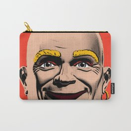 Mr Clean Pop Art on red background Carry-All Pouch