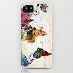 map Slim Case iPhone (5, 5s)