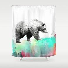 Wild No. 1 // Bear Shower Curtain